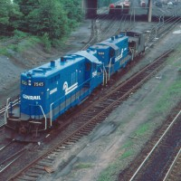 Conrail GP10 7545 Enola, PA