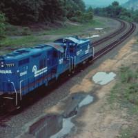 Conrail GP10 7577 Enola, PA