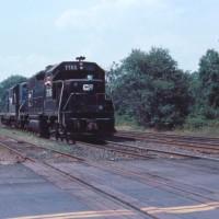 Conrail GP38 7785 Bound Brook, NJ