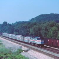 Conrail Amtrak at Bellwood, PA