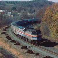 Conrail Amtrak Newport, PA