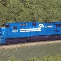 Conrail C32-8 by Dan Bourque