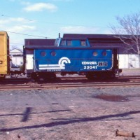 Conrail N5C Cab Bound Brook, NJ