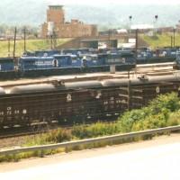 Conrail yard Conway, PA