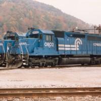 Conrail 0802 Diamond, WV