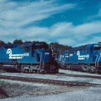 Conrail Cresson, PA locomotives