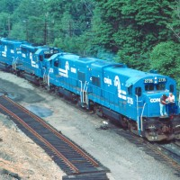 Conrail Enola, PA light power