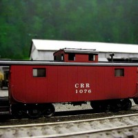 CRR caboose by Bob Helm