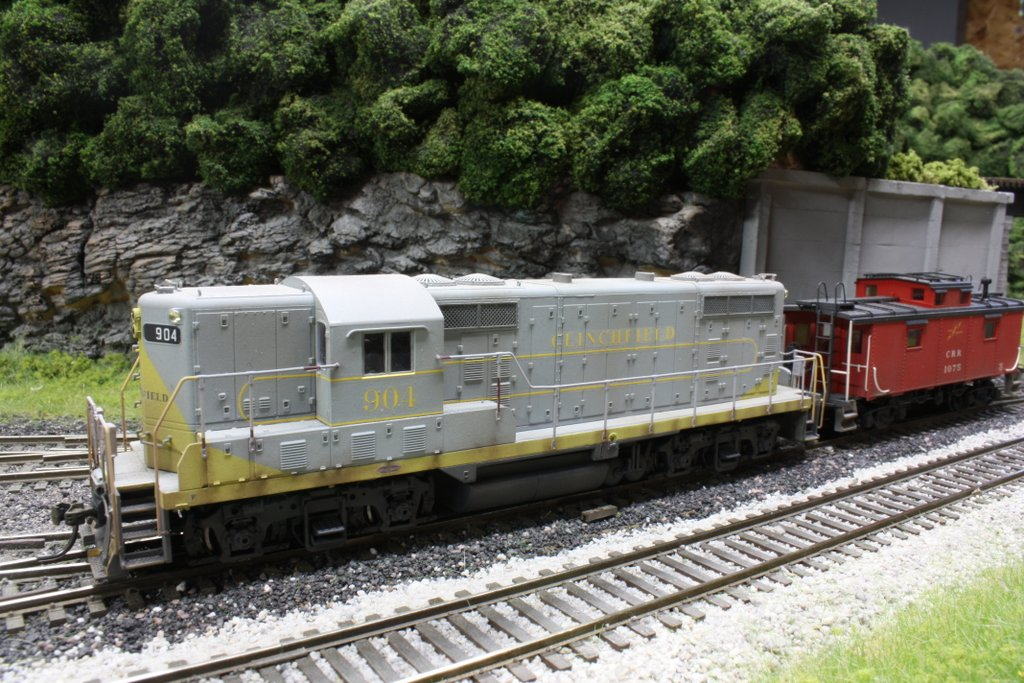 CRR GP7 HO scale model by Brent Johnson