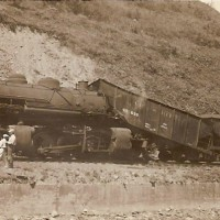 CRR steam-era wreck