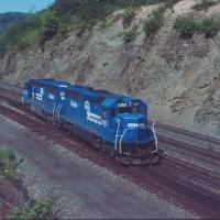 Conrail 6657 Altoona, PA