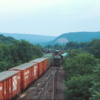 Conrail Enola, PA wreck