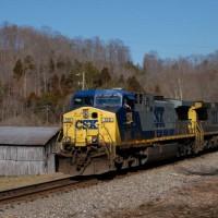 CSX 128 Hill Station, VA