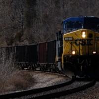 CSX 131 Wood, VA