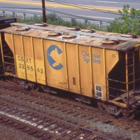 CSX Covered Hopper, Conway Yard, PA