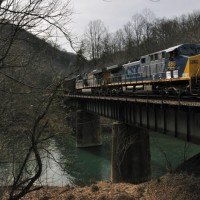 CSX 488 Clinch River, VA