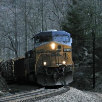 CSX 5272 Shannon Tunnel, VA