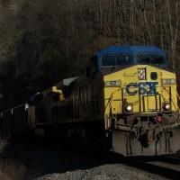 CSX 62 Townes Tunnel, VA