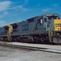CSX 7509 Cowan, TN