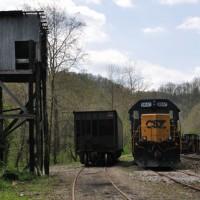 CSX Work Train Allen, VA