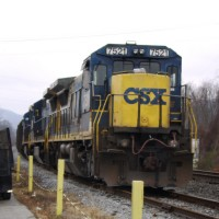 CSX Train Barbourville, KY
