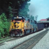 CSX Train, Charleston, WV