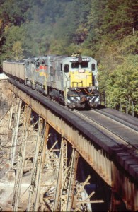 CSX Trestle, Davis Creek, TN