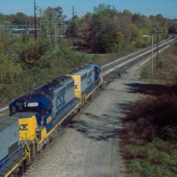 CSX Train, Etowah, TN