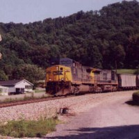 CSX Train, Hanging Rock, VA