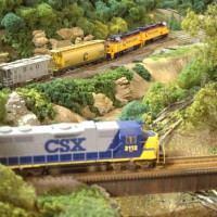 CSX GP38 by Ivan Stasa