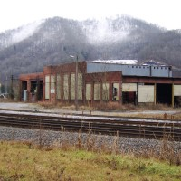 CSX Roundhouse, Loyall, KY