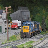 CSX geep by Eric and Tristan Miller