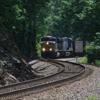 CSX Train Oreton, VA