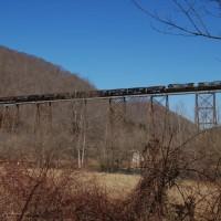 CSX Train Copper Creek Viaduct, VA