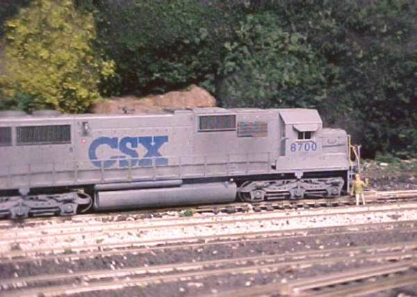 CSX SD60 by Tony Hubbard