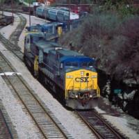 CSX Train, Winchester, KY