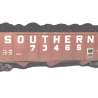 Southern 70T hopper in HO by Dan Bourque
