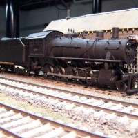 N&W M-class locomotive in O by Ed Reutling and Bill Ramey