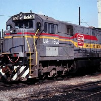 Family Lines 1550 (L&N), Etowah, TN