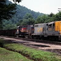 Family Lines 524 (L&N), Blackey, KY