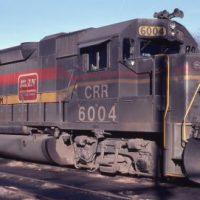 FL CRR GP38-2 6004 at Spartanburg, SC