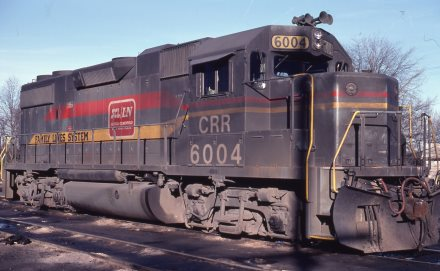 FL CRR GP38-2 6004 at Spartanburg, SC