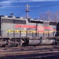FL SCL SD40-2 8056 at Spartanburg, SC