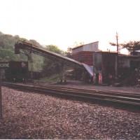 NS loader at Hawthorne, VA