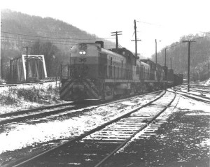 Interstate RS3s at Appalachia, VA, Mar 1965 -Ron Flanary