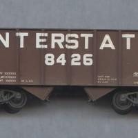 Interstate 50T hopper in HO by Dan Bourque