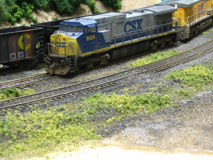 CSX GEs by Ivan Stasa
