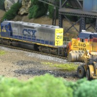 CSX SD40-2 by Ivan Stasa
