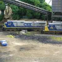 CSX mine run and loader by Ivan Stasa