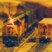 Chessie meet on Jeff Sassa's layout